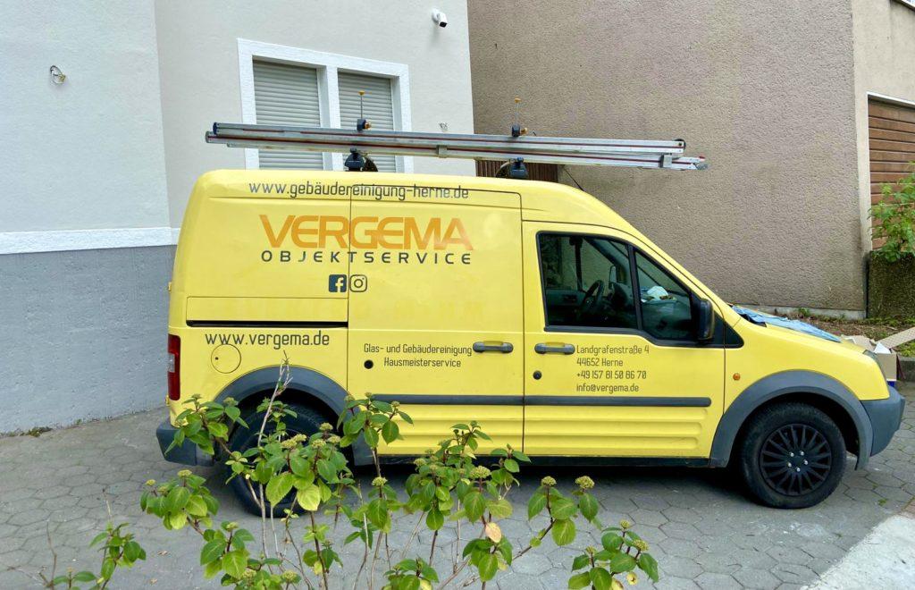 Vergema Objektservice Gebäudereinigung mit Firmenchef Visar Osmani für das gesamte Ruhrgebiet