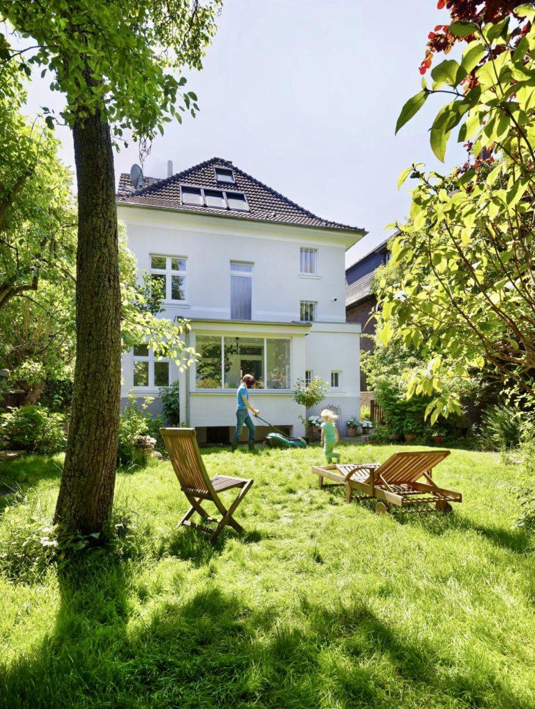 Garten Stadtvilla