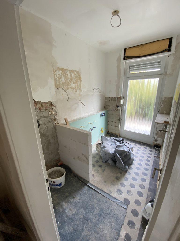 Armin Dlugosch hat unser Badezimmer modernisiert
