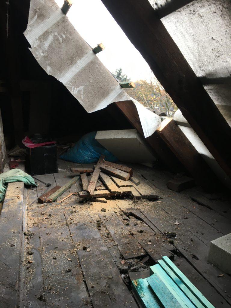 Dachboden alt